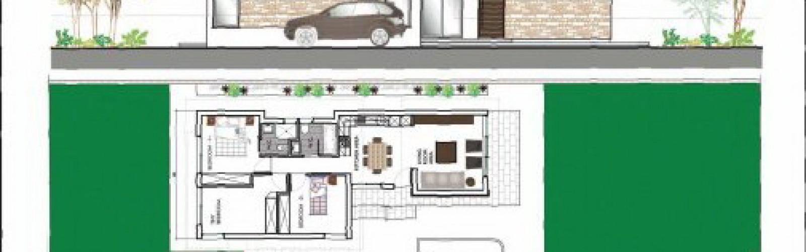 Three Bedroom Detached House