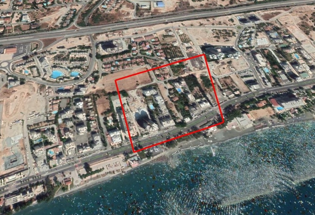 Privileged Plot– 100m From The Sea                 Agios Tychonas