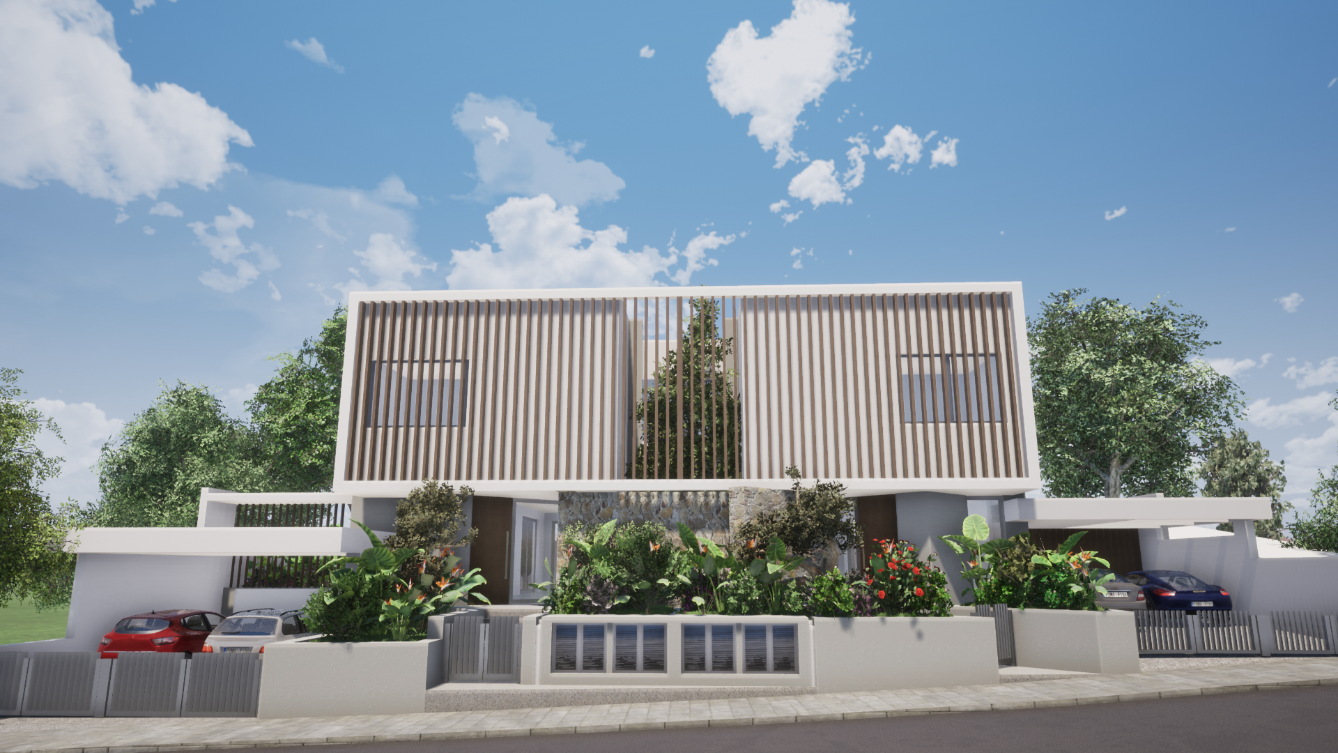 Four bedroom semi-detached house in Agios Athanasios