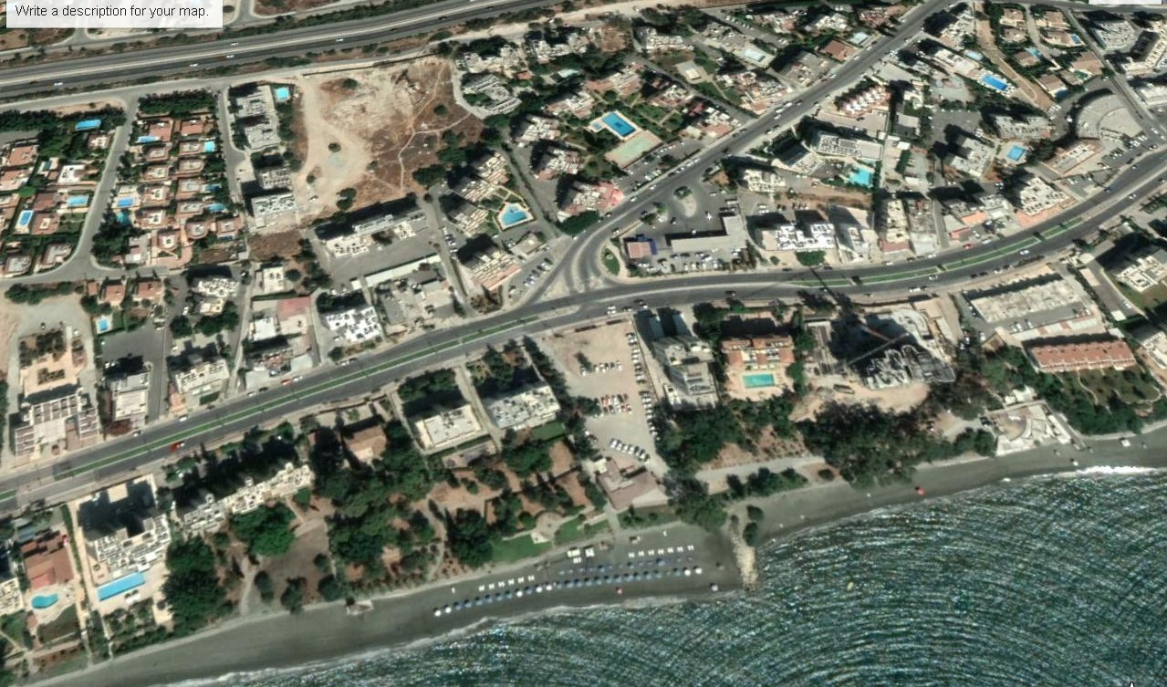 Commercial Plot – 100m From The Sea Agios Tychonas