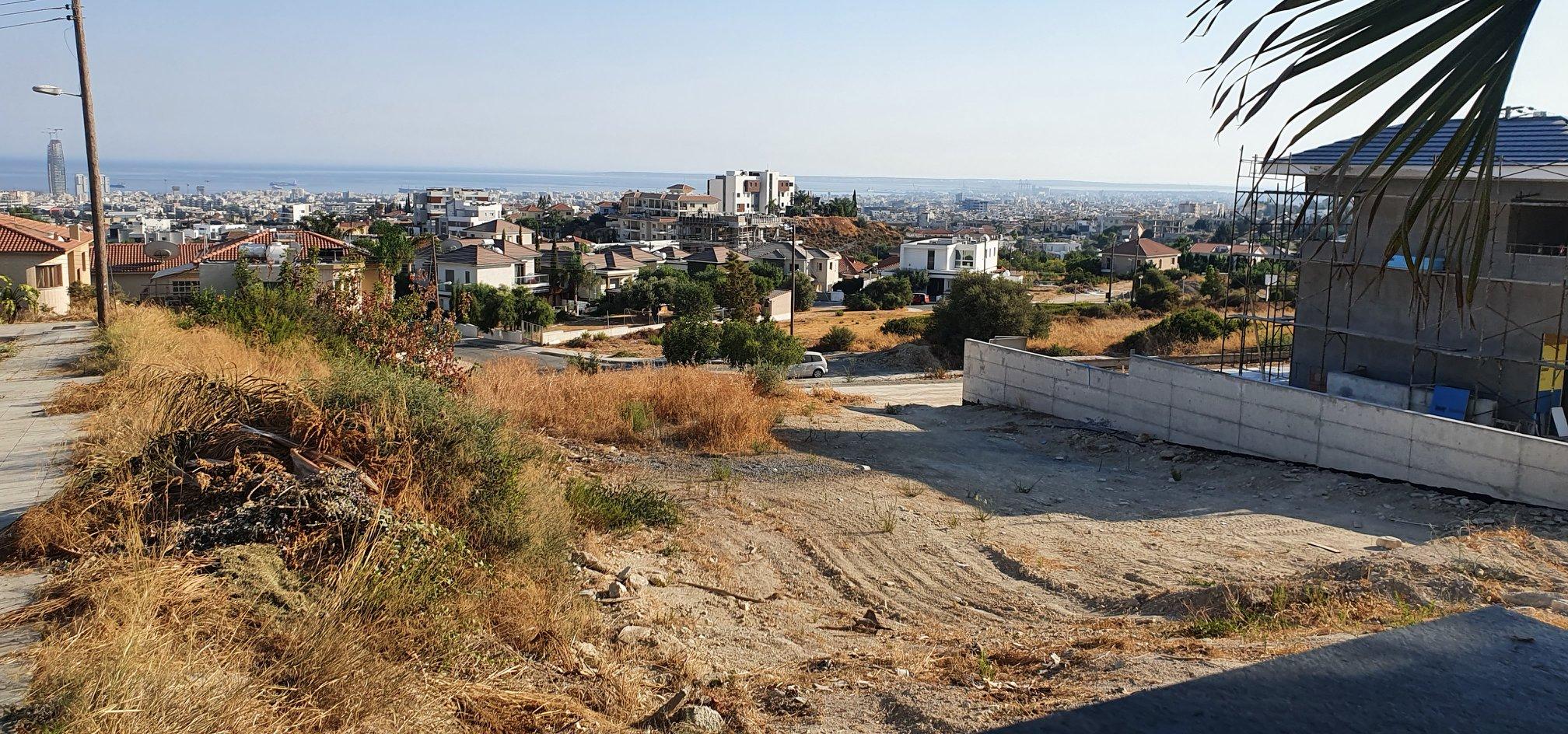 Residential Sea view plot in Agios Athanasios