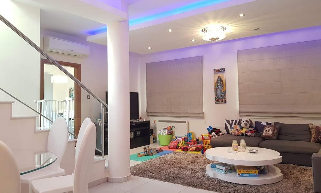 dining to living area view