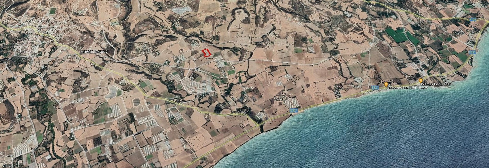 Agricultural Plot 1.3km From the SEA